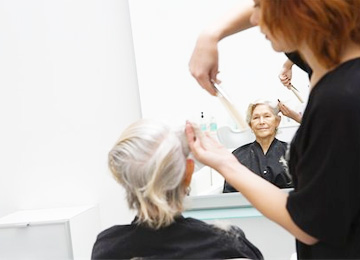 personal care & beauty treatments at Sharston House Nursing Home