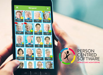 PCS Person centred software at Kingsley care homes