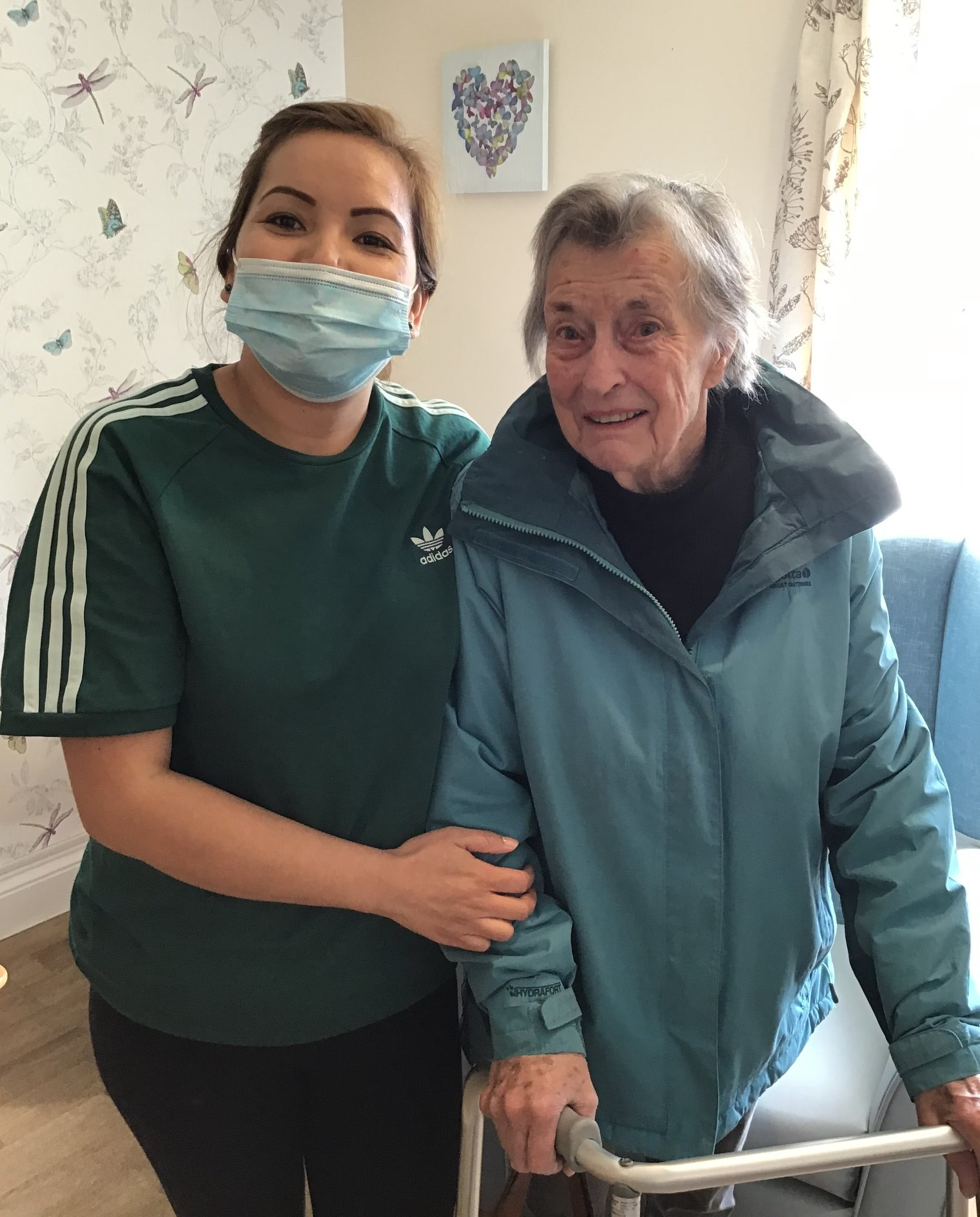 Residents at Queen Charlotte Nursing Home enjoyed a successful World mental health day on Saturday