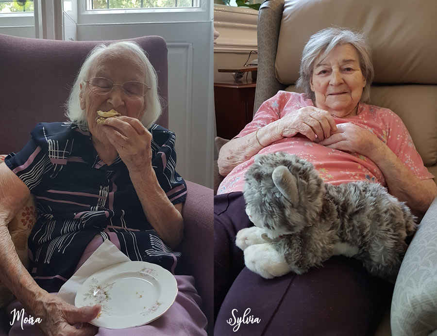 Happy Residents at Depperhaugh Nursing Home