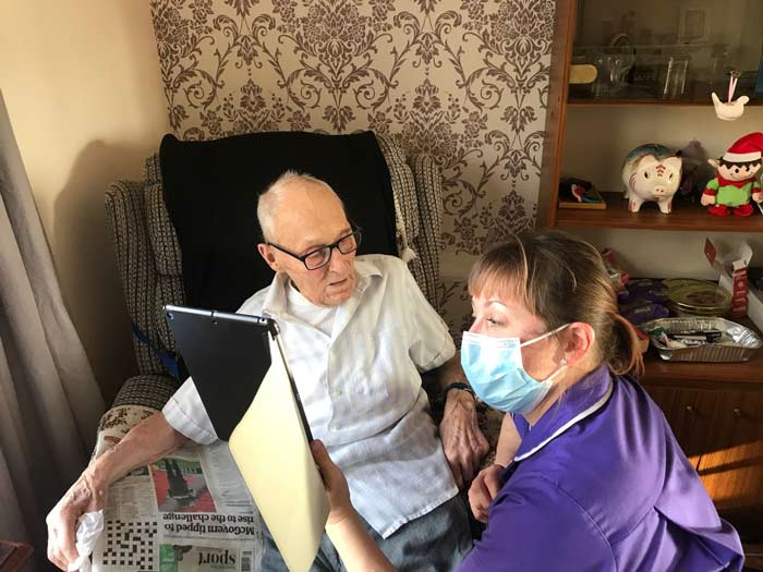 Care home resident, 101, to share wartime stories with Dutch schoolchildren