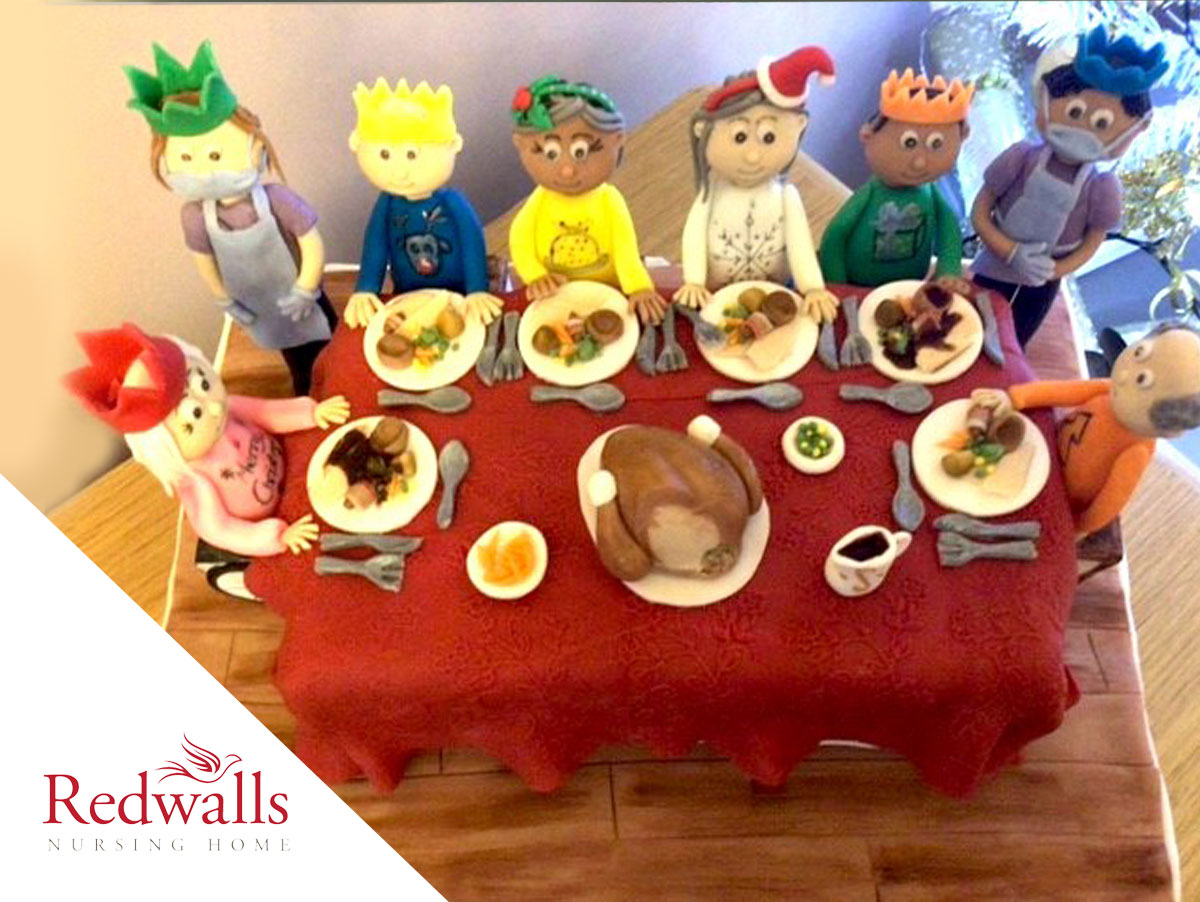 Redwalls Nursing Home voted a clear winner in Kingsley Christmas Cake Competition