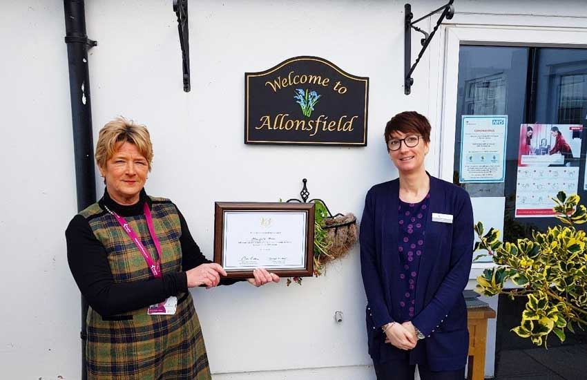 Allonsfield House staff honoured by Lord Lieutenant