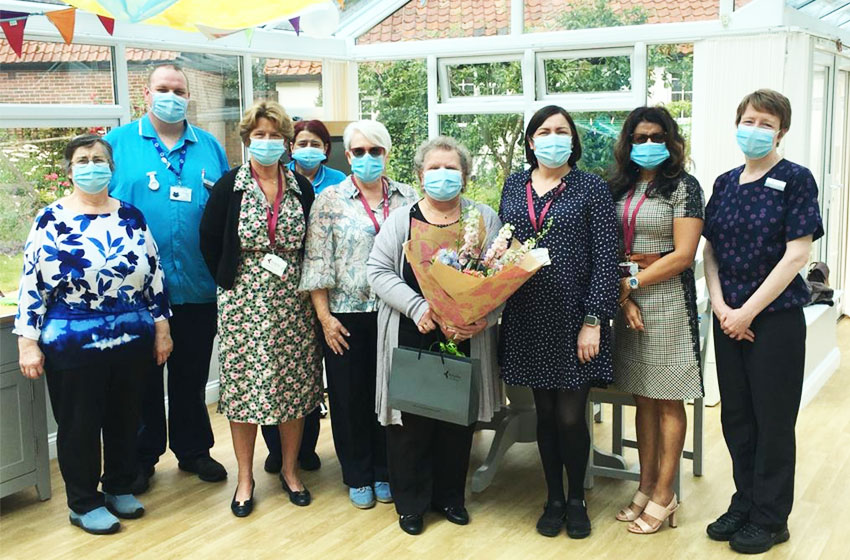 Allonsfield House says goodbye to longest serving support worker