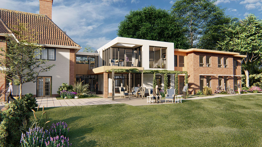 Brooke House care home extension plans recommended for approval