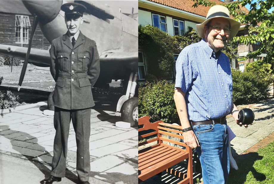 Armed Forces Day brings back happy memories of National Service for Brooke House resident George