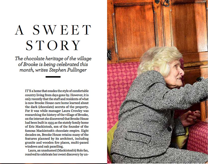 A sweet story - It's a home that exudes the style of comfortable country