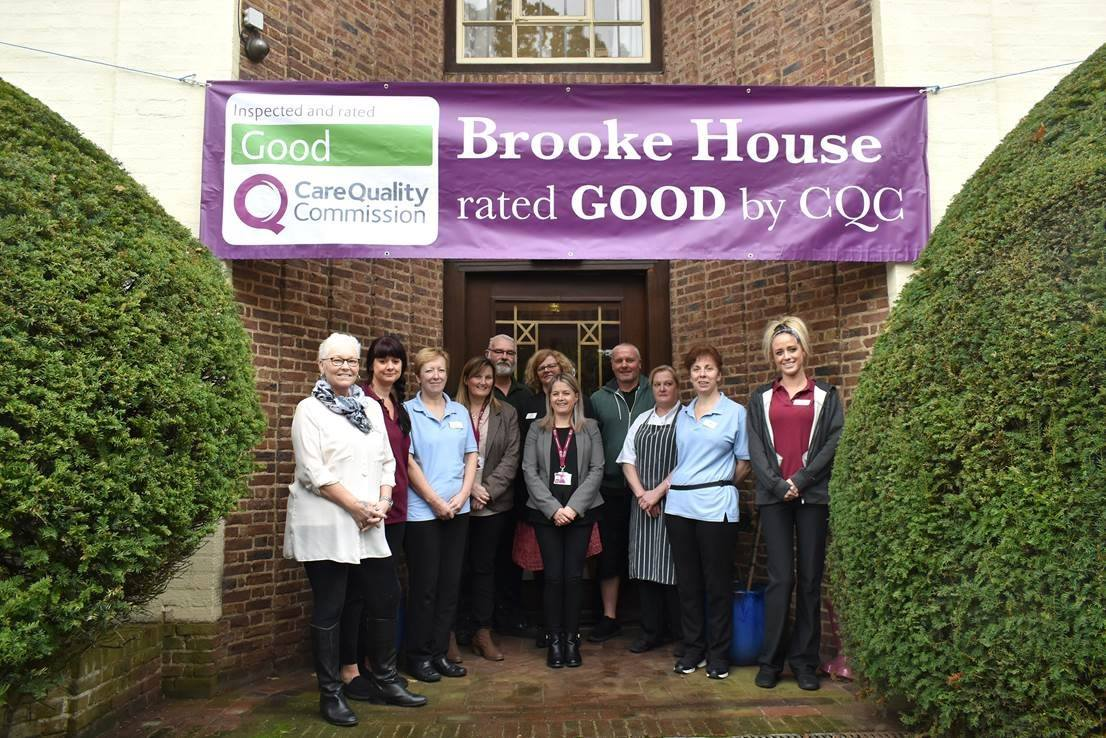 Brooke House care homes in norwich - Good cqc report