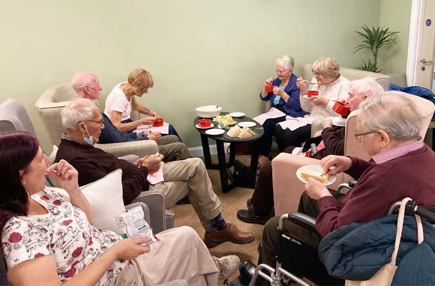 Free social events at Buckingham Lodge care home aim to lift spirits after pandemic