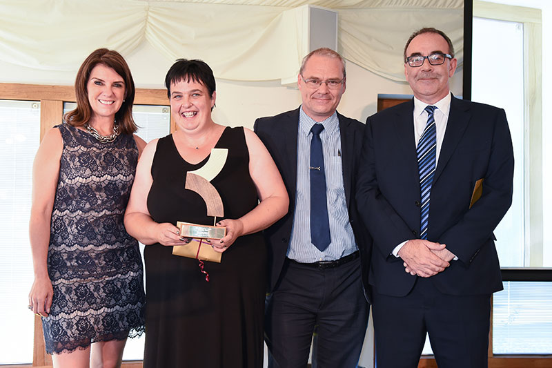 """TV doctor Dawn Harper praised care home workers as """"the unsung heroes of our society"""" at Kingsley Healthcare's glittering awards ceremony"""