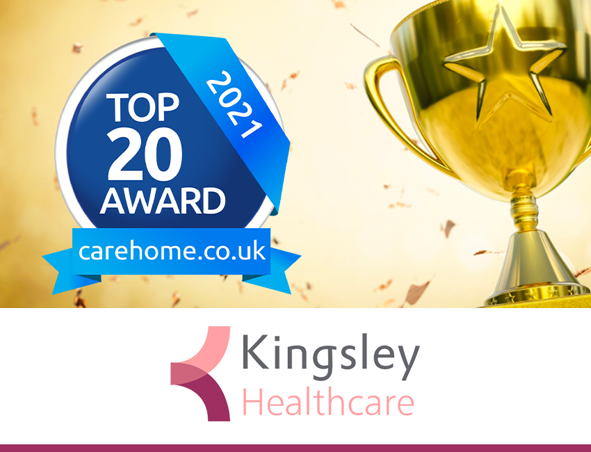 Kingsley achieves double success in carehome.co.uk awards