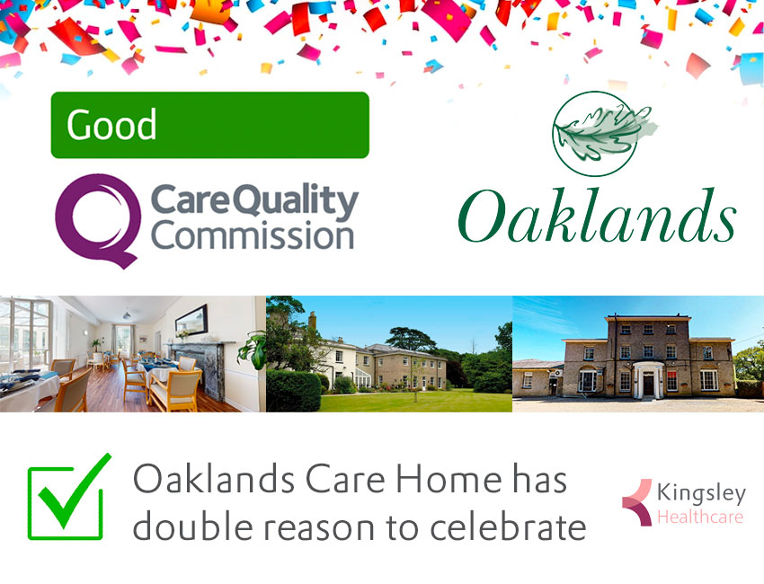 Oaklands Care Home has double reason to celebrate