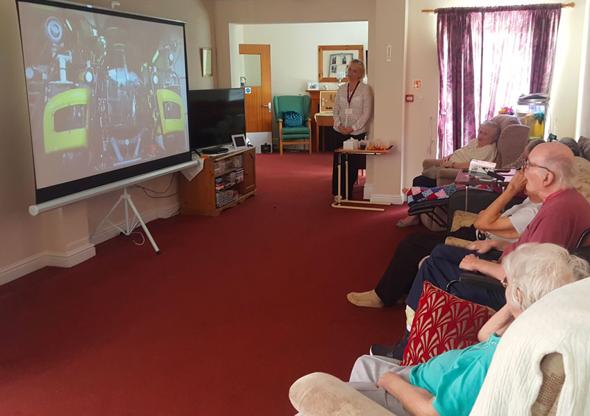 Kingsley Dignity Day we are celebrating the special relationship between staff and residents at Eversley Nursing Home