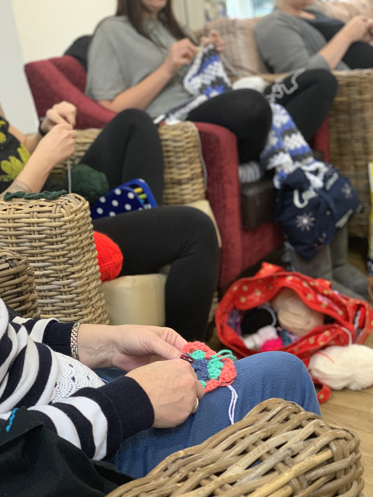 Crochet Club at Four Oaks