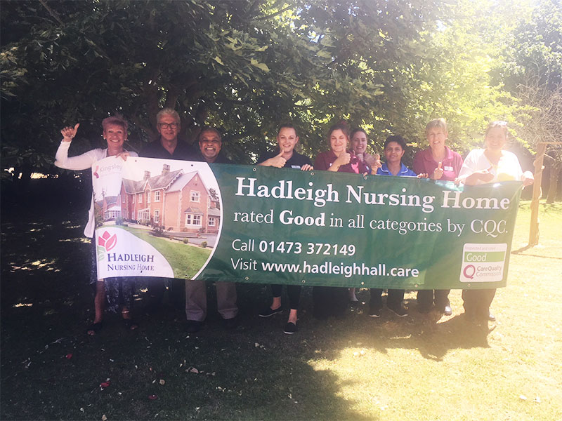 nursing care homes in ipswich