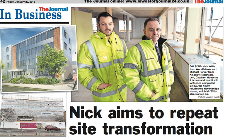 Nick aims to repeat site transformation