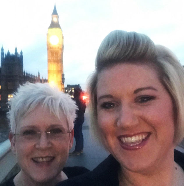 Two Kingsley Healthcare managers were guests at a House of Commons reception