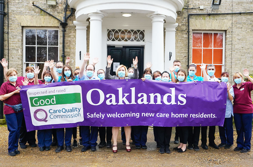 'Good' rating for care home