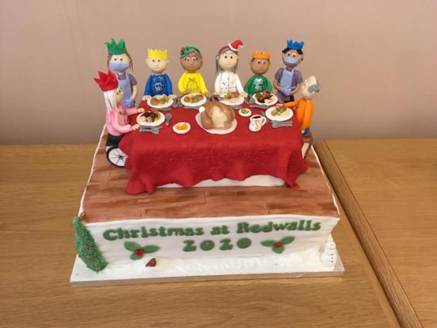 This incredible Christmas cake fulfilled mum