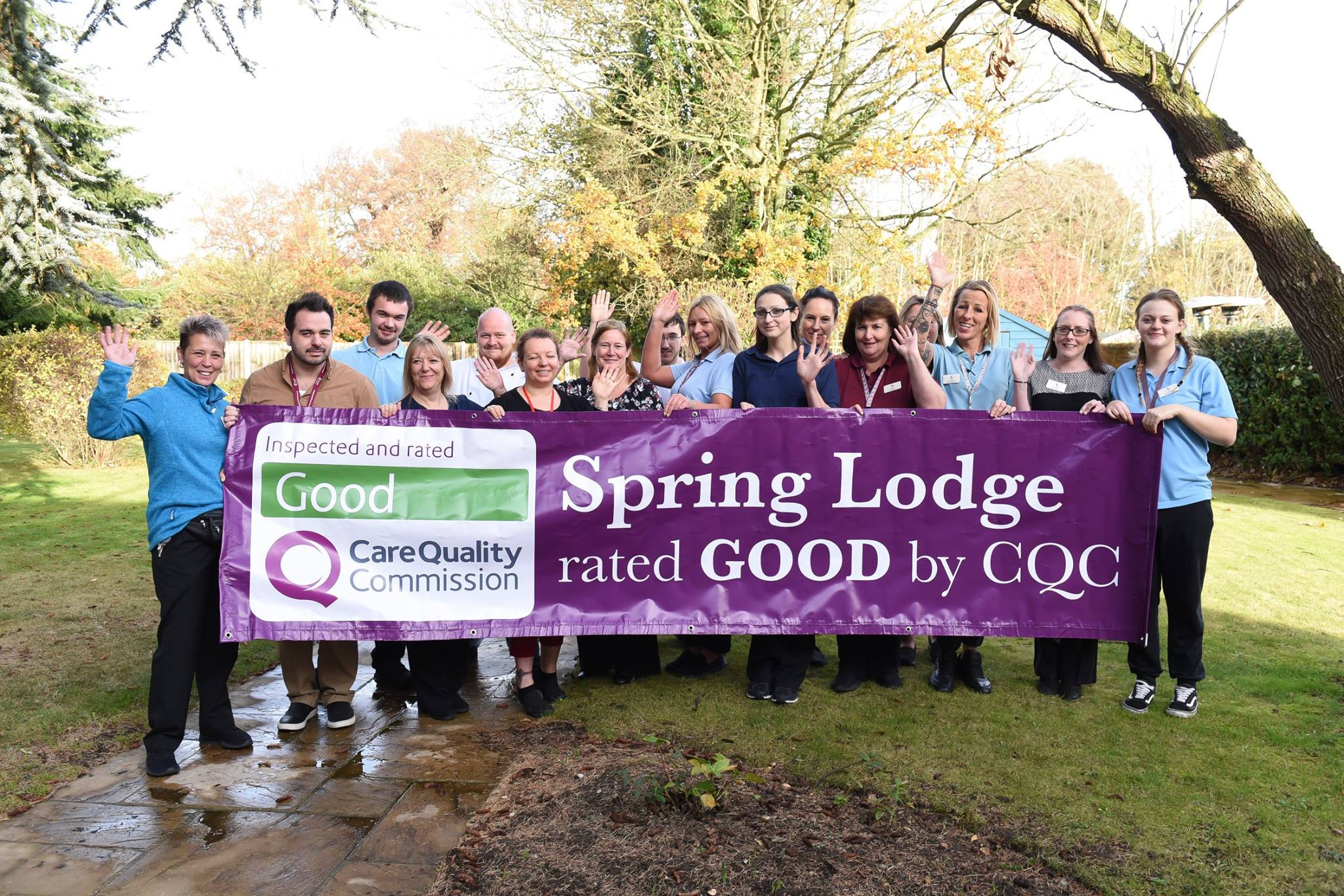 Spring Lodge care homes in Ipswich - Good CQC report