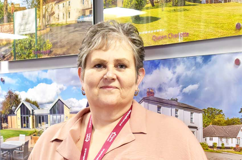 Susan joins Kingsley as trainee operations manager