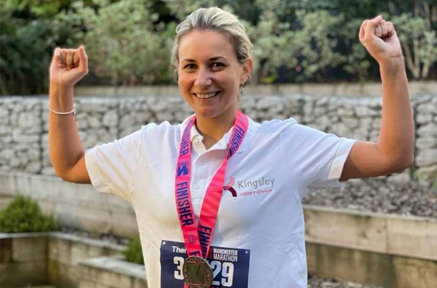 Timperley Care Home manager's marathon success