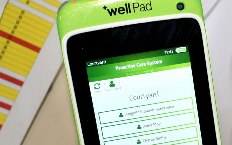 New technology is playing a vital role in improving care across the Kingsley Healthcare Group